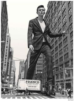 Jeremy Matos + Richard Detwiler are Larger Than Life for Details Fall 2014 Suiting Fashion Editorial image Details Fall 2014 Suiting 001
