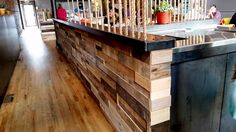 Prefab Architectural Pallet wood wall panels from Sustainable Lumber Co.