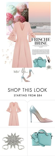 """""""Dress to Impress: Blind Date"""" by frechelibelle ❤ liked on Polyvore featuring Seed Design, Roksanda, Prada, Yochi, Fendi and Burberry"""
