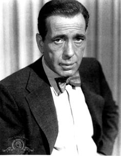 "Humphrey Bogart in ""The Barefoot Contessa"" (1954)"
