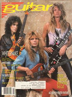 1987 October Guitar for the Practicing Musician Magazine Back-Issue