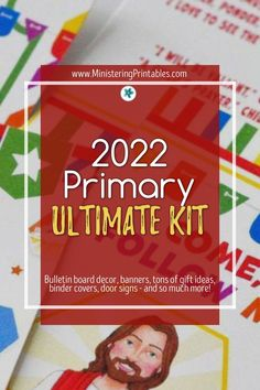 This printable kit has EVERYTHING you need for your Come, Follow Me Old Testament primary this year. Download now! #Primary #Primary2022 #LDSPrimary #LatterDaySaint