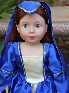 If you love Romeo and Juliet, you will love our Renaissance Princess Doll Costumes for 18 inch Dolls and American Girl Dolls at Harmony Club Dolls. Visit us at www.harmonyclubdolls.com