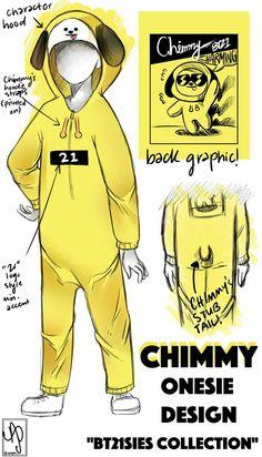 BT21 CHIMMY KIGURUMI Bts Kawaii, Bt 21, Fandoms, Bts Drawings, Kpop Merch, Line Friends, Bts Chibi, Bts Lockscreen, Bts Fans