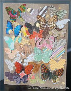 MDL Butterfly Card