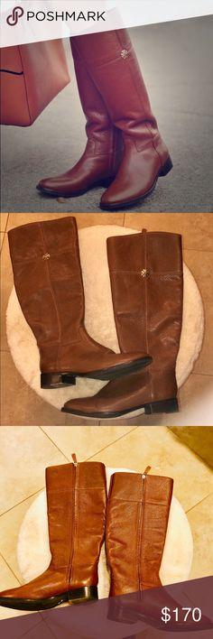 b65635553a1d Tory Burch Jolie Riding boots size 8 brown tan Authentic Tory Burch Jolie  riding boots