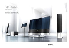 "Luxury TV--- LOEWE: 55"", wall stands, installation: http://corporate.loewe.tv/au/loewe-ag/press/press-releases/archive/newspost/beitrag/mustergueltig-eingerichtet-mit-denindividuellen-aufstellloesungen-von-loewe.html"