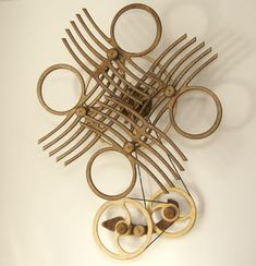 Kinetic sculpture - Quandary by David C. Roy