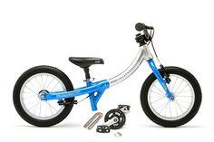 LittleBig growing balance bike to kids pedal bike. A proper kids bike - only little.