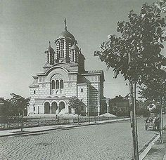 "Istoria Bisericii Sf.Elefterie ""Nou"" – 20 aprilie 1934 – Cotroceni1900.ro Canterbury, Notre Dame, Taj Mahal, Building, Travel, Viajes, Buildings, Destinations, Traveling"