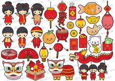 premium vector imgenes prediseadas por looklookprettypaper chinese cartoon nouvel an chinois new year clipart