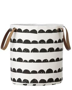 Ferm Living Half Moon Storage Basket | LEIF