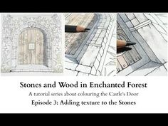 Stones and Woods in Enchanted Forest - Episode 3 - Adding texture to the Stones - YouTube