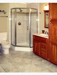 Updated Bathroom with Linen Tower