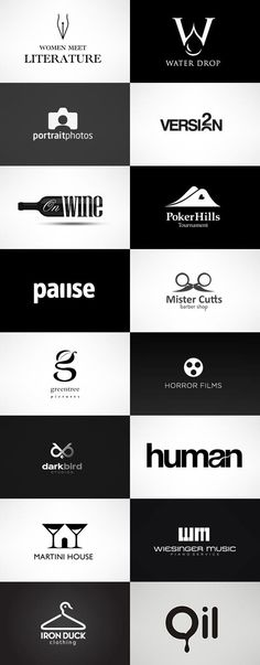 grafiker.de - Logo-Inspiration: Black & White