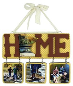 MN Home Hanging Plaque - Click through link for project instructions.