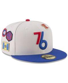 b4c1225bef5 New Era Philadelphia 76ers City On-Court 59FIFTY FITTED Cap Men - Sports  Fan Shop By Lids - Macy s