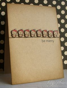 """I could pin every single one of Lucy's cards, my flickr favourites album is basically """"The Best of Lucy Abrams"""" album (along with a pile of other talented gals from the Hero Arts Flickr Group)."""