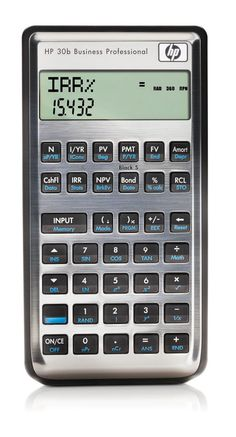 HP-30B Business Professional Calculator