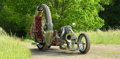The Gabriel Ø project Steampunk motorcycle design by digital artist Marco Furlanetto.