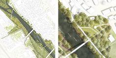 1. Rang Gestaltung eines Stadtparks an der Enz...competitionline