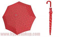 Detský dáždnik Doppler KIDS MAXI DOTS červený s bodkami Dots, Fashion, Stitches, Moda, Fashion Styles, Fashion Illustrations