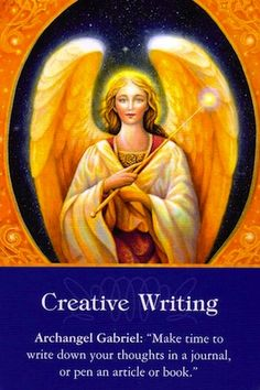 Make time to write down your thoughts in a journal, or write an articl – Angelic Healing By Danica
