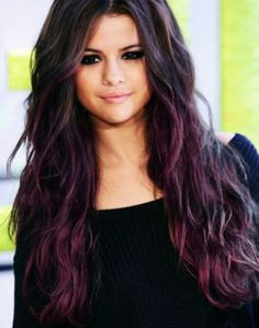 This is exactly what I want to do with my hair but with dark red