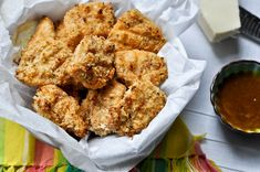 Healthy, Crunchy Asiago Chicken Nuggets  how sweeteats