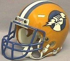 Usfl Oakland Invaders Revolution Helmet Helmets
