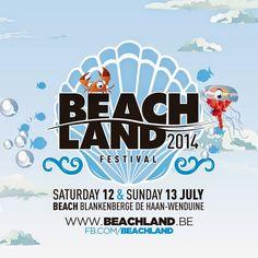 Beachland 2014 | 12|13 juli | Blankenberge