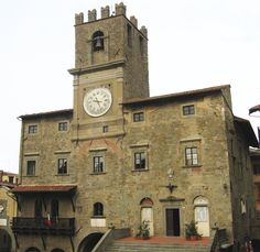 """Palazzo Comunale, Cortona   """"... mother of Troy and grandmother of Rome"""" (Virgil - Aeneid III and IV)  """
