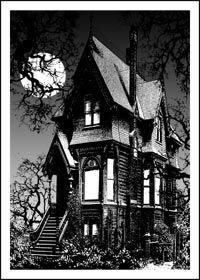 Victorian Gothic House home maintenance for your haunted house | victorian house
