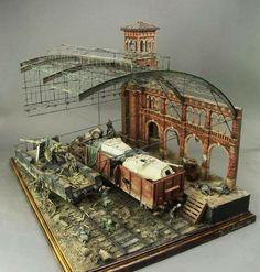 Impressive diorama: Yuebiao Hung