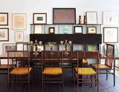 Gordon VeneKlasen's Cabinet of Curiosities Ming-dynasty ivory, religious reliquaries, and contemporary art cohabit harmoniously in the art dealer's Manhattan row house.