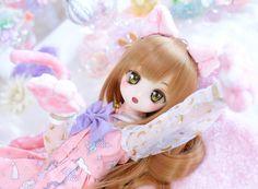 Anime Dolls, Bjd Dolls, Plush Dolls, Doll Toys, Kawaii Doll, Kawaii Art, Kawaii Anime Girl, Pretty Dolls, Cute Dolls