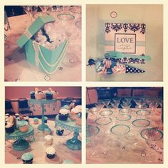 peach   tiffany blue shabby chic wedding the frosted