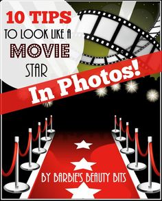 Great Video On The Top 10 Tricks & Tips To Looking Like a Movie Star In Photos, By Barbie's Beauty Bits. #diybeauty, #photos #redcarpet