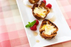 Croque Madame French Toast Cups > Willow Bird Baking