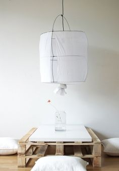 The Koushi Lamp of Mark Eden Schooley - Can be bought via Serendipity eshop (www.serendipity.fr)