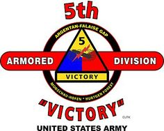 "5th Armored Division "" Victory "" United States Army Shirt.  World War II  Mediterranean & European Campaigns:Normandy* Northern France* Rhineland* Ardennes-Alsace* Central Europe.  (August 1945 Location: Muhlhausen, Germany)  (Killed In Action:570)  (Wounded In Action:2,442)  (Died Of Wounds:140)"