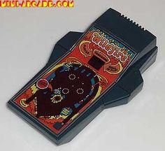 Wildfire handheld electronic pinball