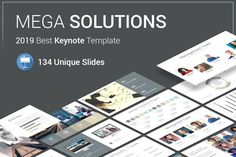 Mega Solutions Keynote Template is a Flexible, clean, simple, and unique Keynote Template. All elements easy to edit and you can easily change the color to match it with your personal or company brand, Save your time with 7 Premade templates.
