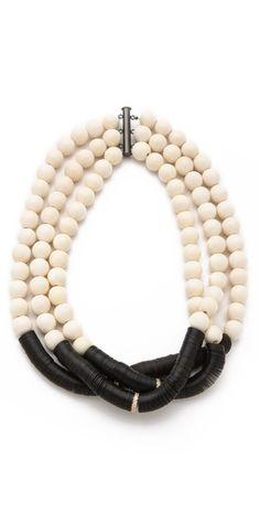 Elizabeth and James Shaman Beaded Necklace   SHOPBOP