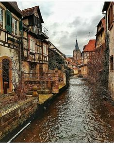 Streets of Weissenburg, France. Places Around The World, Travel Around The World, Around The Worlds, Places To Travel, Places To See, Travel Destinations, Alsace, Scenery Photography, France Travel