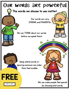 FREE early elementary printables - free social awareness resources - teach kids social thinking - elementary school counseling - mindful parenting - family and parenting free resources - first and second grade printables - pediatrics Elementary School Counseling, School Social Work, Elementary Schools, Preschool Education, Career Counseling, Primary Education, Social Emotional Learning, Social Skills, Learning Skills