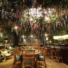 In honour of The RHS Chelsea Flower Show (24–28 May) Sketch, the Mayfair eatery with a design twist, has flexed its green fingers…