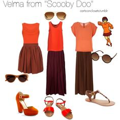 """Velma from ""Scooby Doo"""" by bforbel on Polyvore"