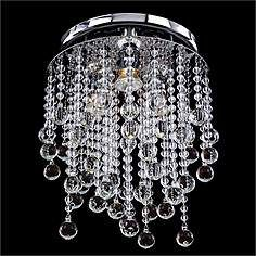 "Pristina Collection 11 1/2"" Wide Crystal Ceiling Light"