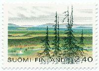 Urho-Kekkonen National Park with Saariselkä Mountains Clark Art, Scandinavian Countries, Good Old Times, Framed Prints, Canvas Prints, Stamp Collecting, Postage Stamps, Finland, National Parks